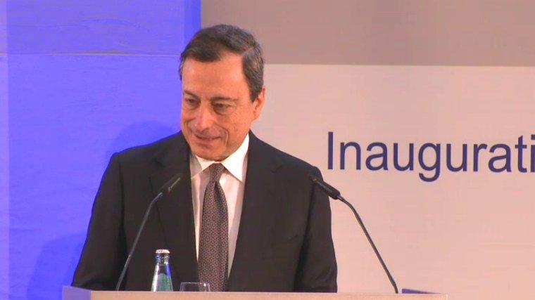Eröffnungsfeier der EZB.