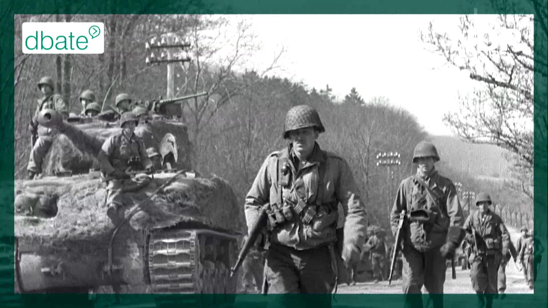 Soldaten im Jahr 1945.