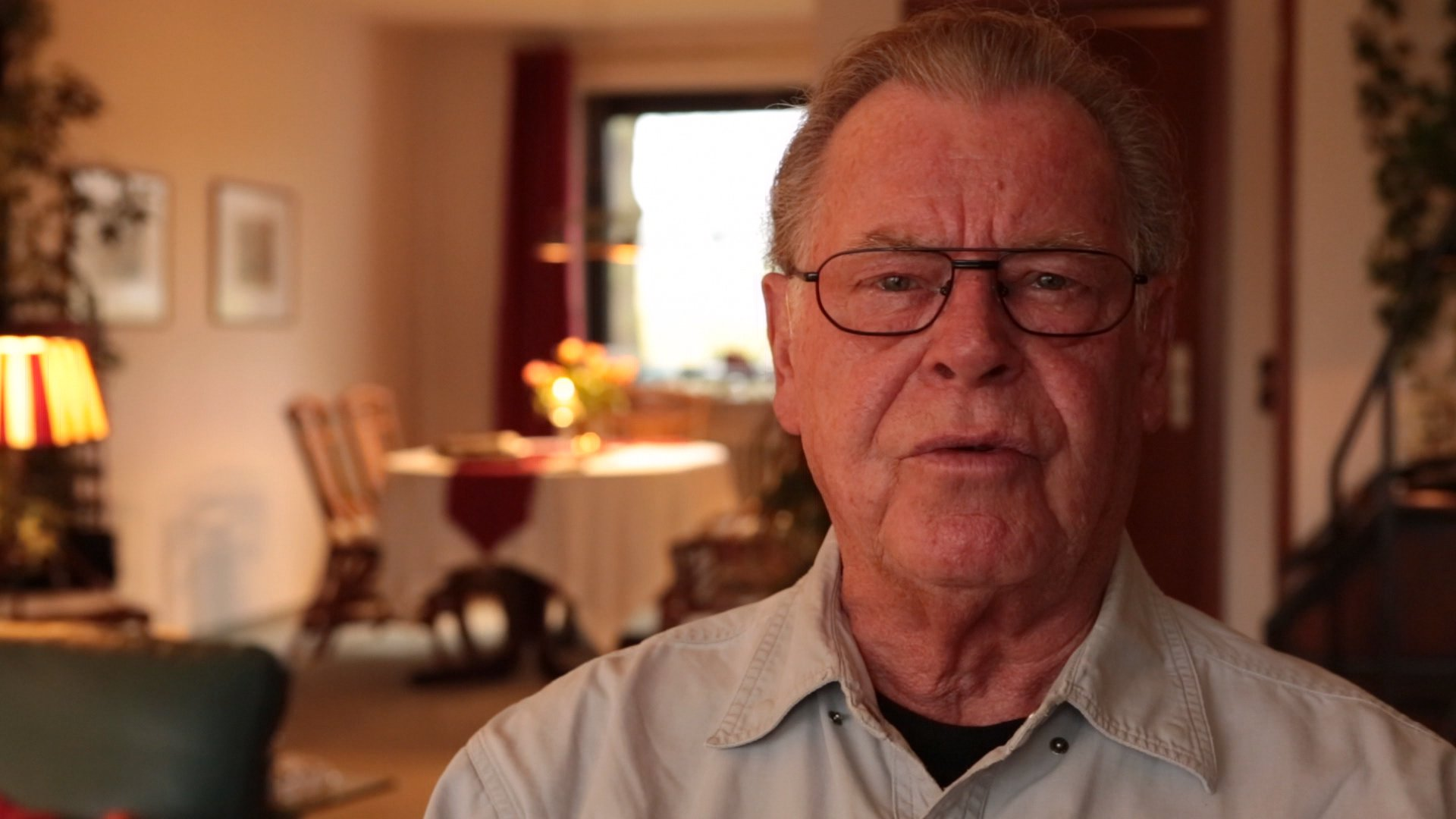Walter Hort spricht über Kriegsende und Heimkehr.
