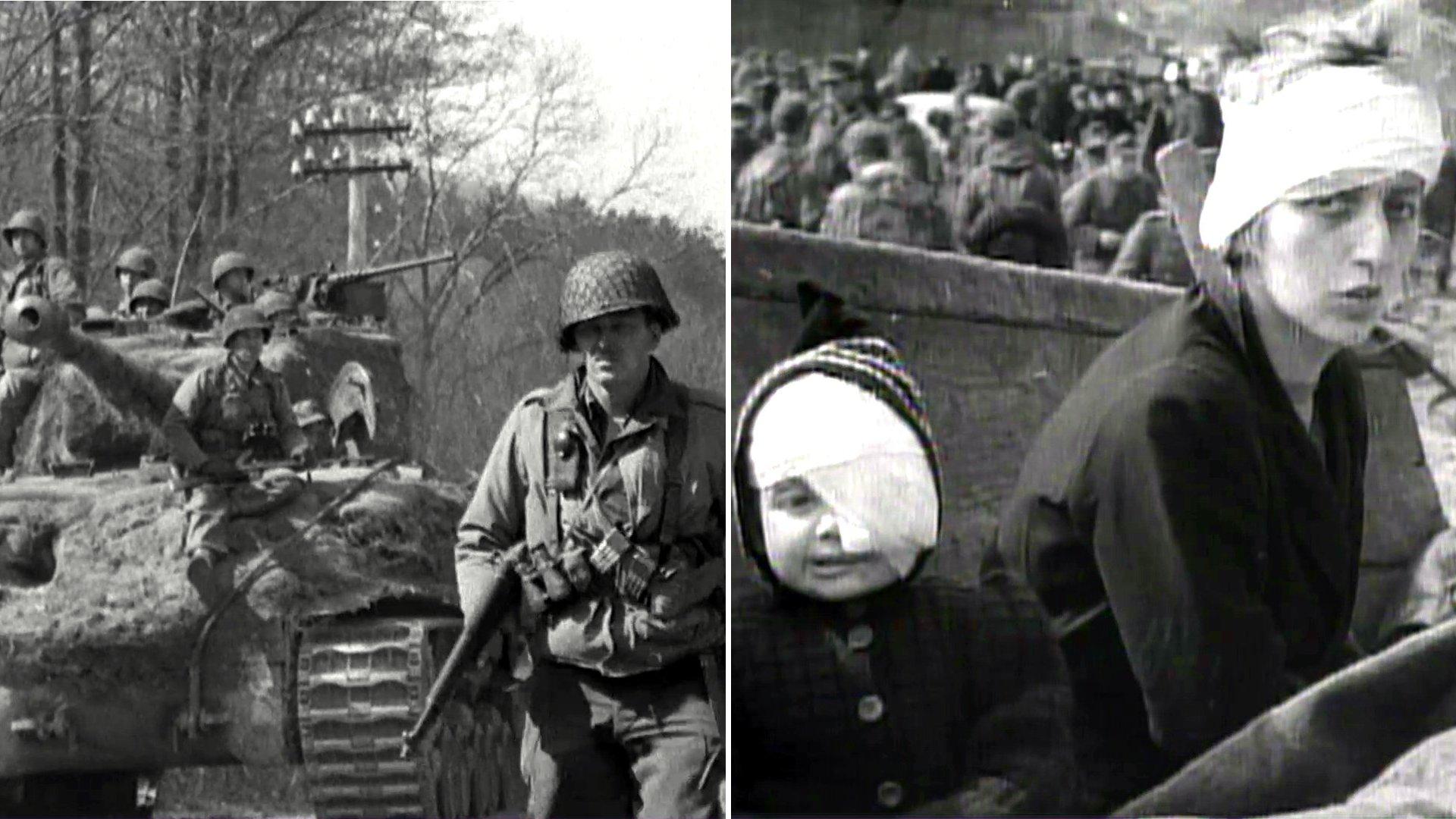 """Historisches Videotagebuch """"Mein 1945 - Norddeutsche erinnern sich an das Kriegsende"""" (Doku)"""