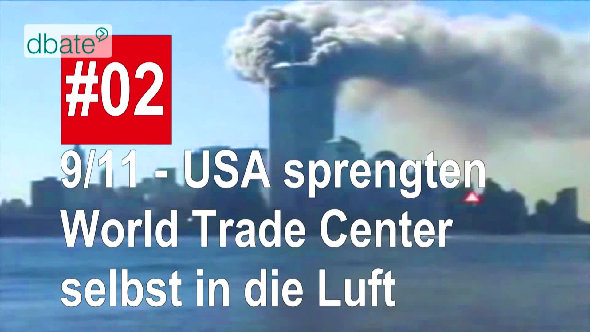 Verschwörungstheorie zu 9/11.