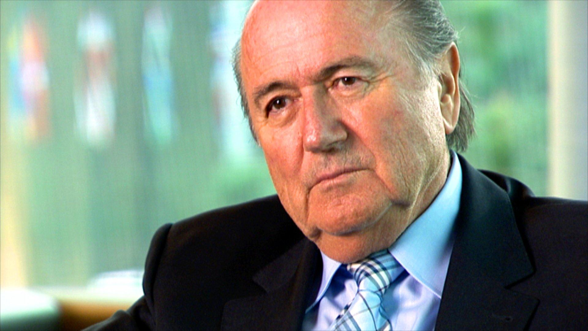 FIFA-Präsident Sepp Blatter, 2007.