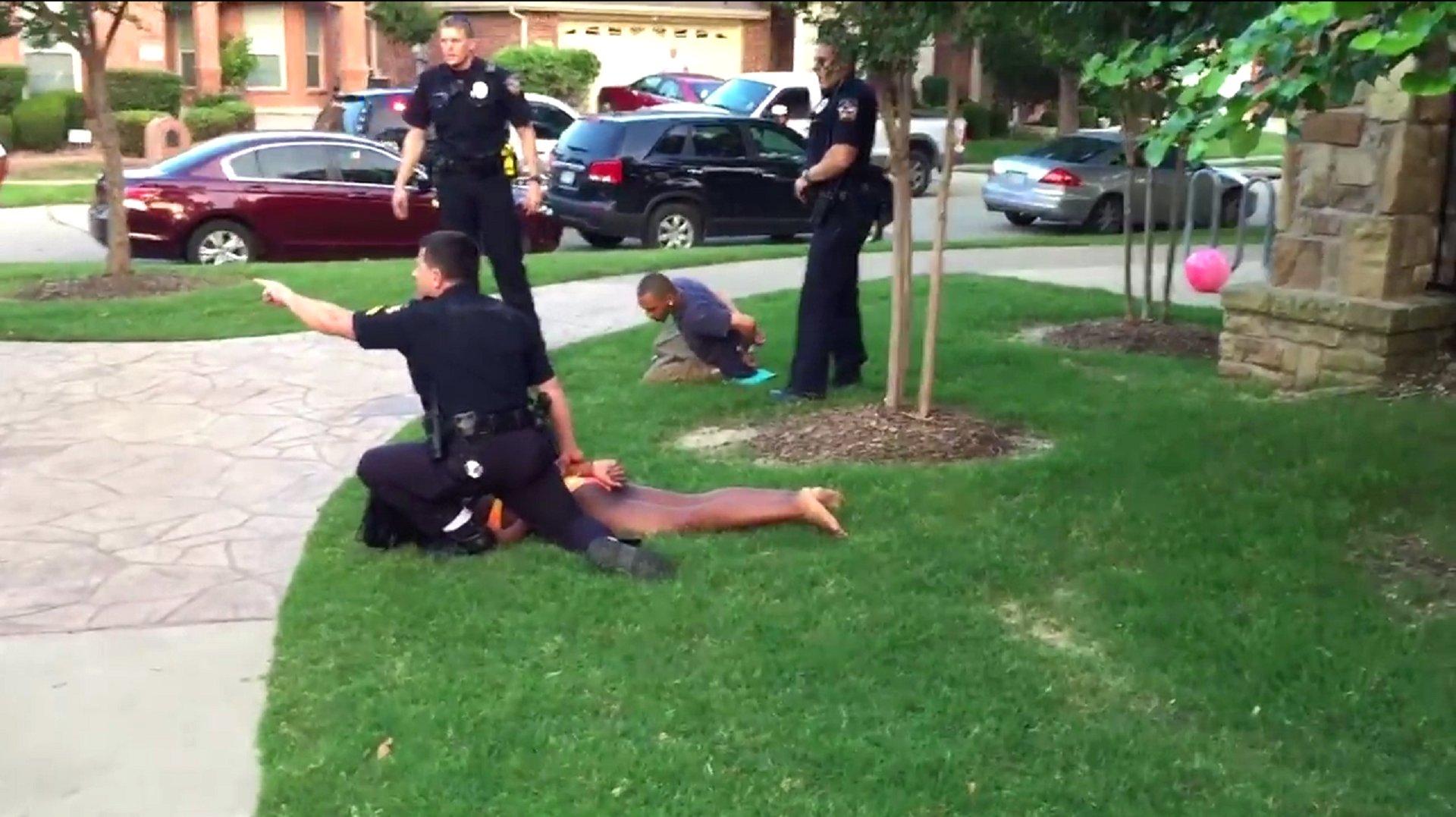Zweifelhafter Polizeieinsatz in Texas