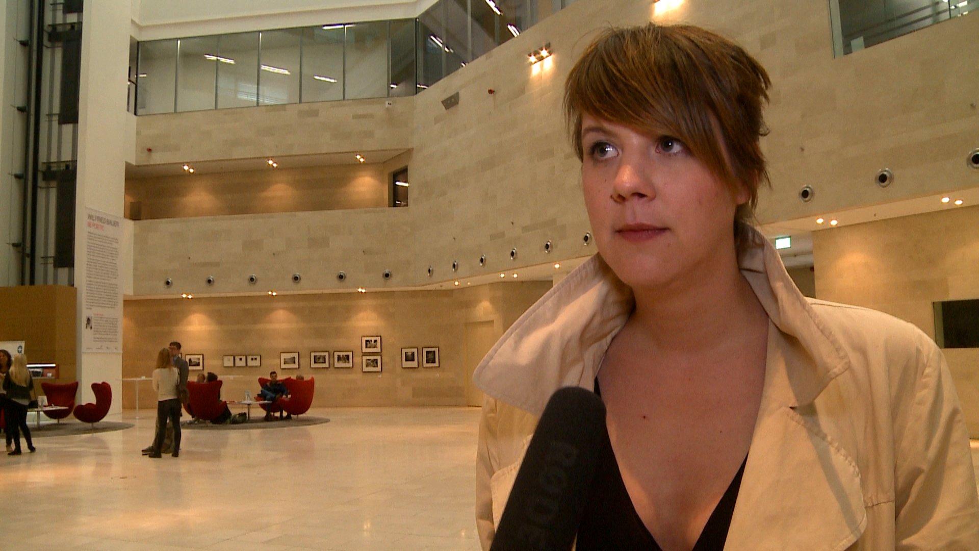 Kathrin Weßling spricht im Interview mit dbate-Reporterin Denise Jacobs über neue Möglichkeiten der Berichterstattung
