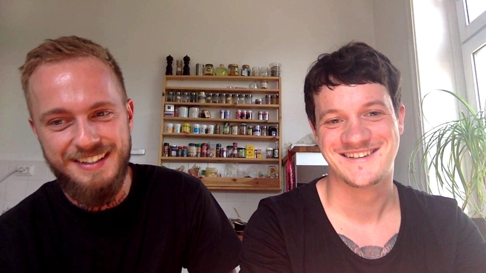 Johannes Jo Riffelmacher und Thomas Cozy Kosikowski von Salt & Silver, 2015.