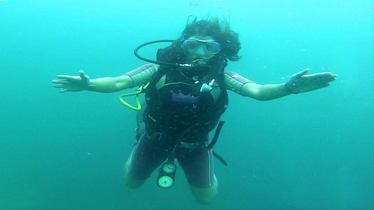 Reise-Bloggerin Sally Meukow (ersieweltreise), 2015.