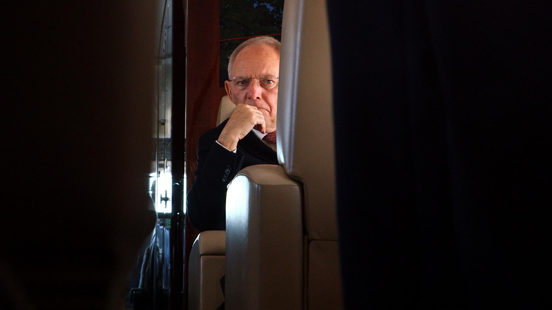 Finanzminister Wolfgang Schäuble, 2015.