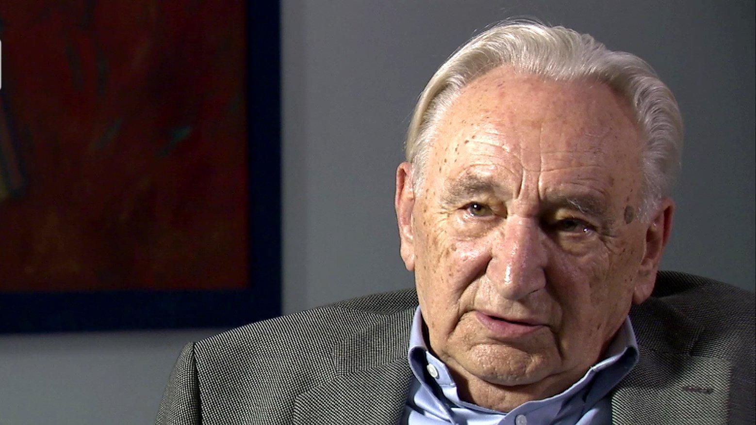 SPD-Legende Egon Bahr im Interview, 2009.