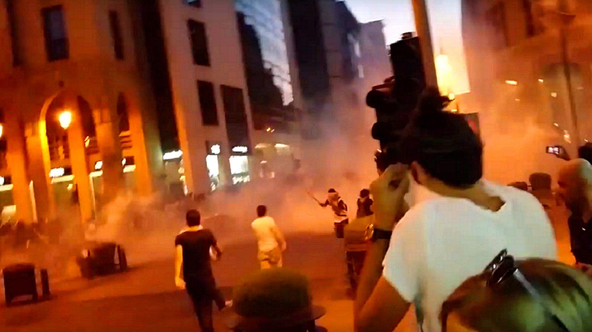 Proteste in Beirut wegen Müllproblem