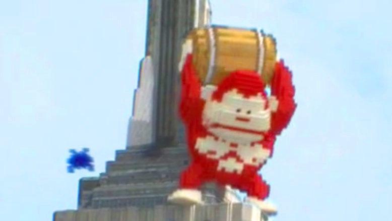 "Donkey Kong im Film ""Pixels"""
