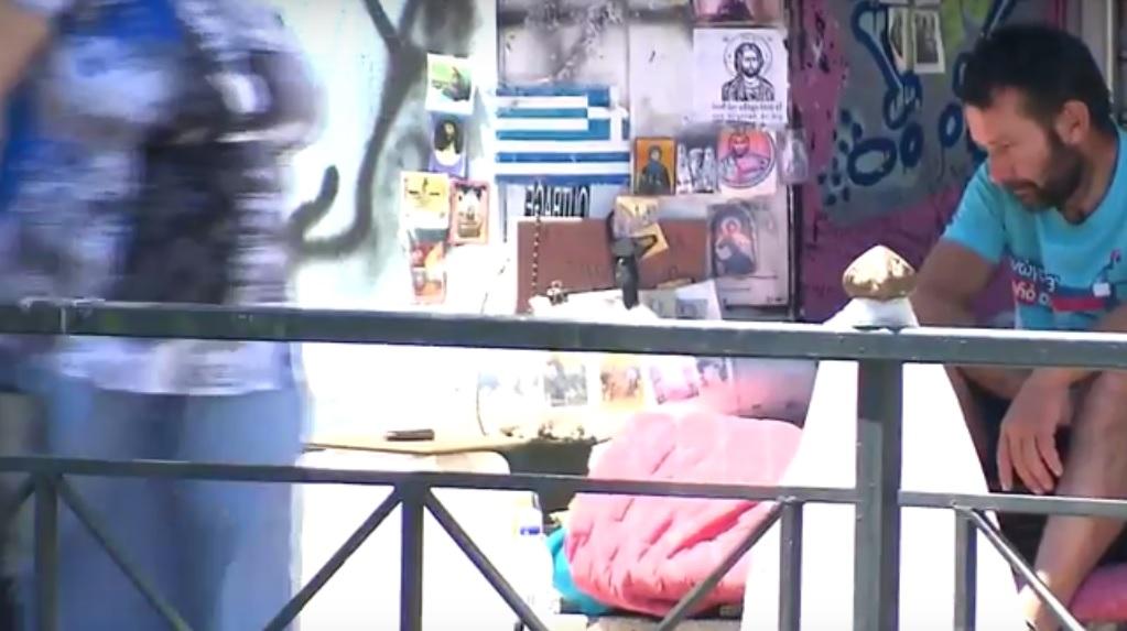 Obdachlosigkeit in Athen, Euro-Krise in Griechenland