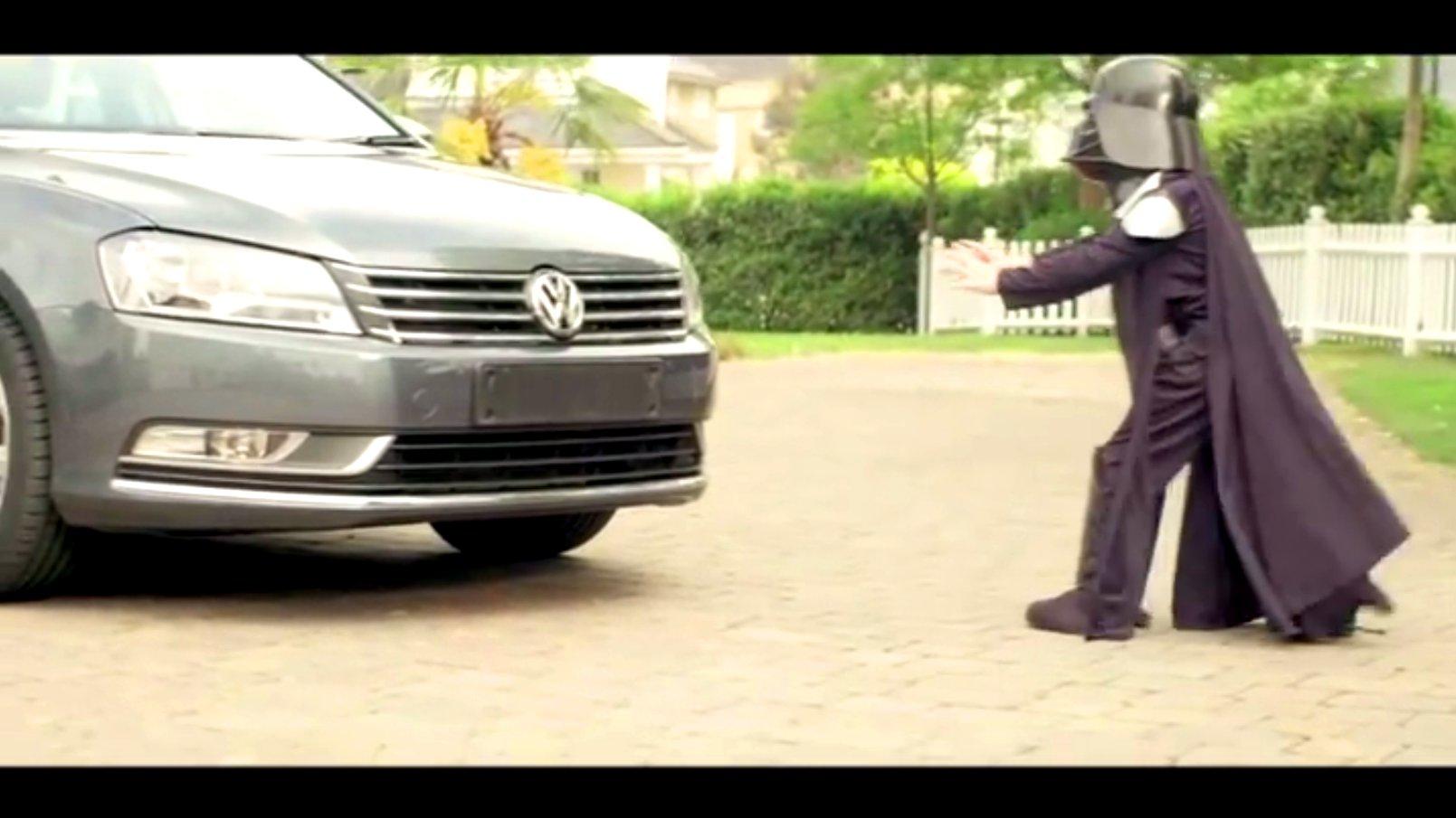 Darth Vader vs. Volkswagen, 2011.
