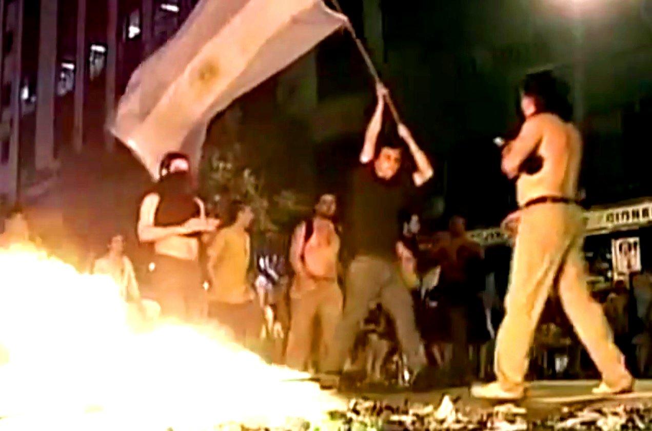 Unruhen nach Staatspleite, Argentinien 2001.