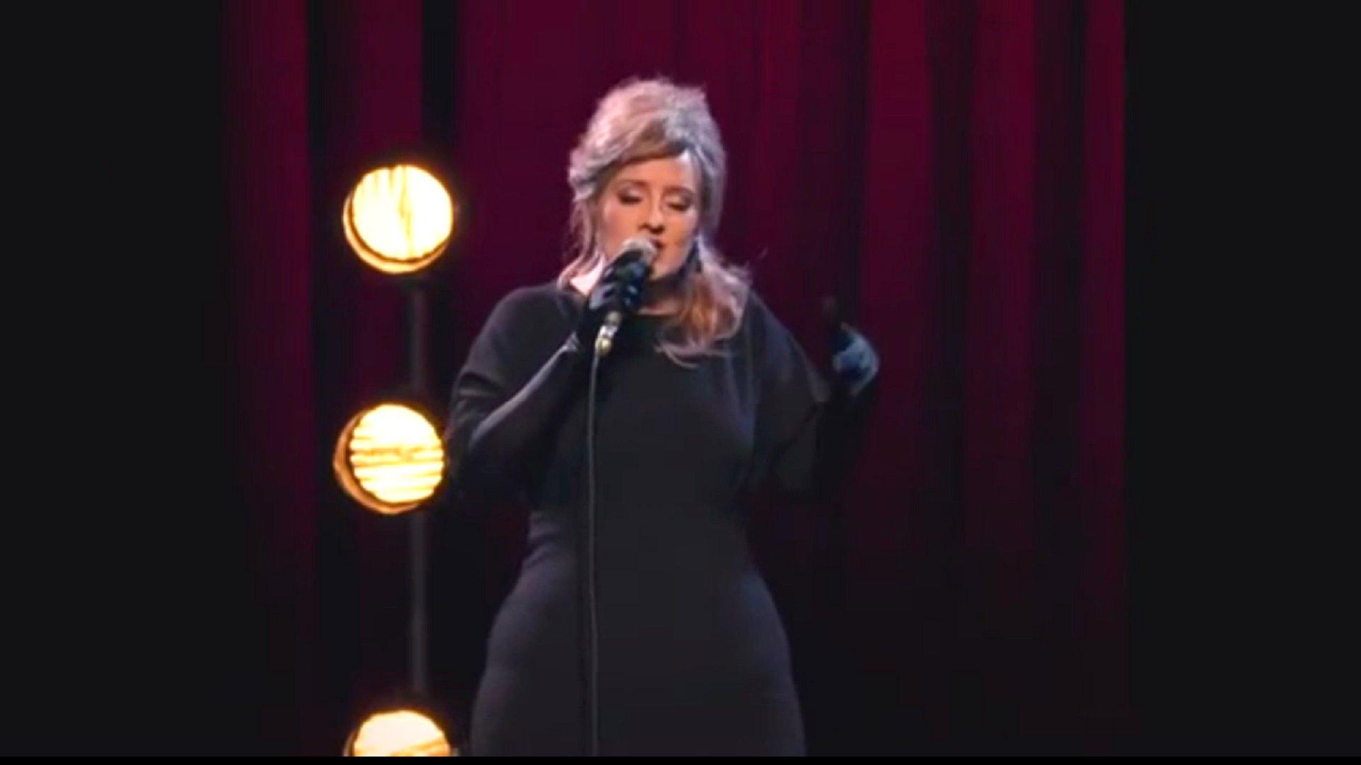Adele überrascht beim Adele-Doppelgänger-Wettbewerb