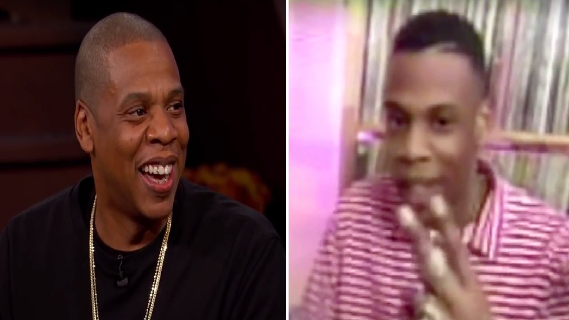 US-Rapper Jay-Z bei Jimmy Kimmel, 2015.