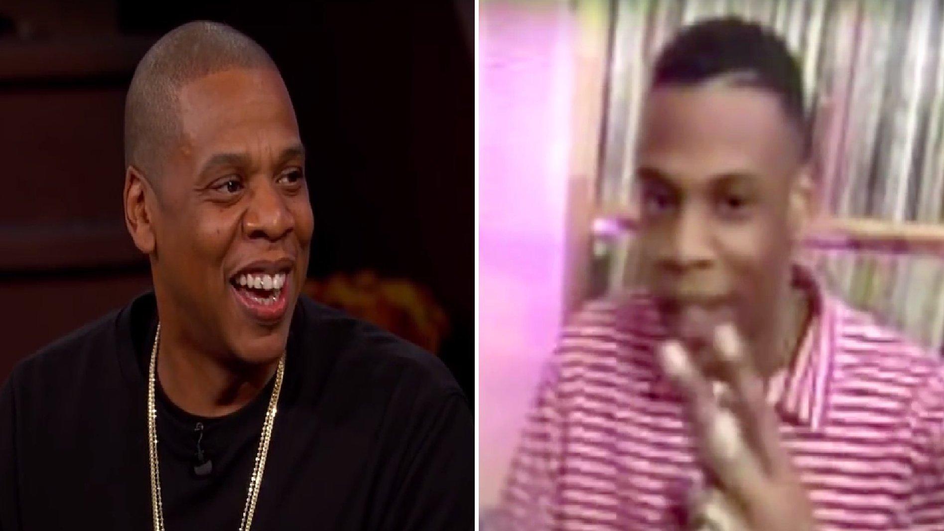 US-Rapper Jay-Z bei Jimmy Kimmel, 2015.