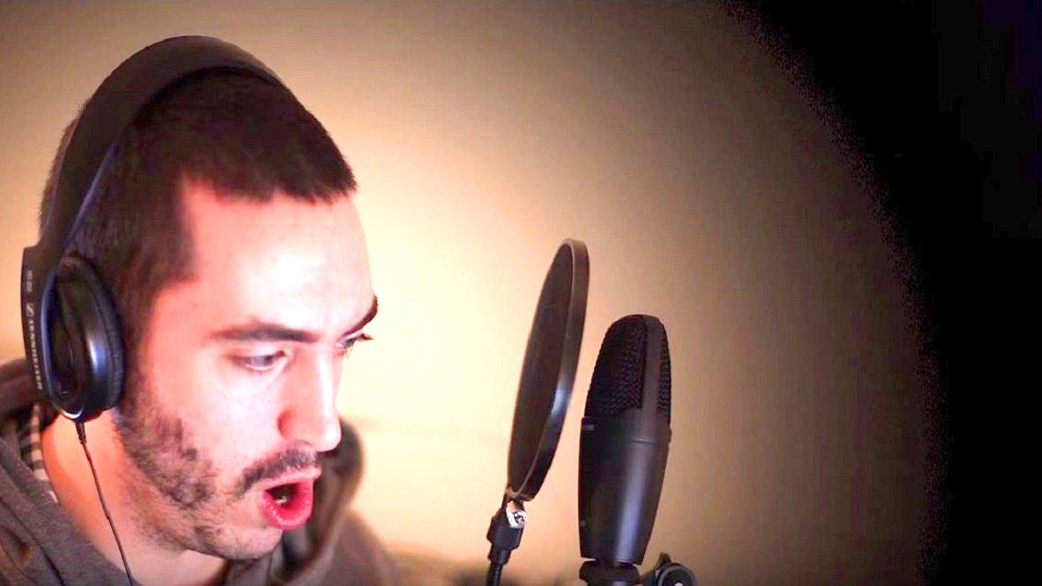 Stimmen-Imitator Nic de Houwer, 2015.