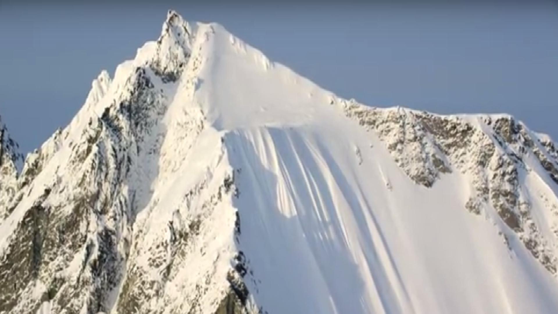 Ski-Legende Ian McIntosh überlebt 500-Meter-Sturz, 2015.