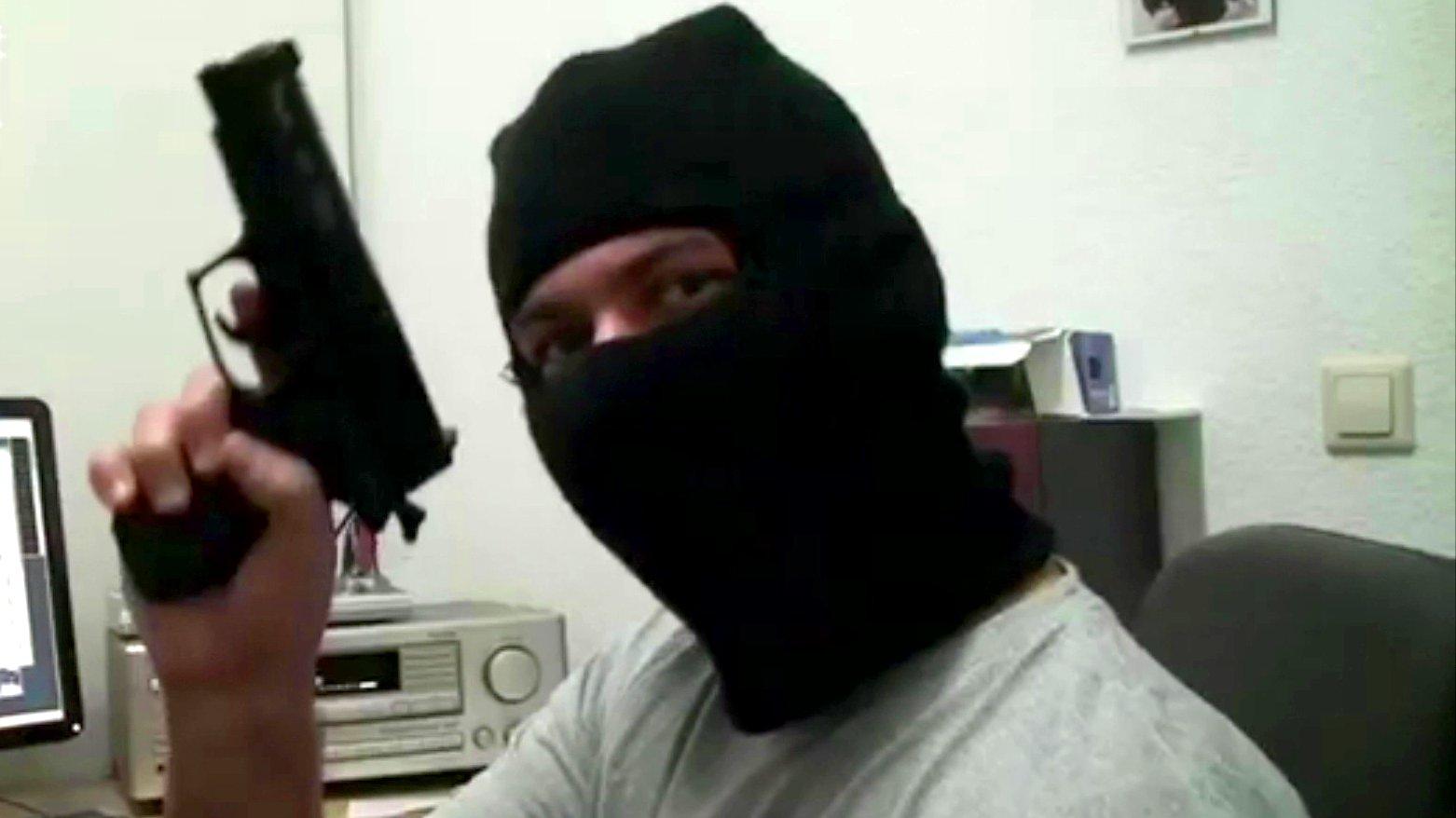 Meine Fresse - Gewalt und Politik im Deutschrap / Berliner Gangsta-Rapper Blokkmonsta, 2015.