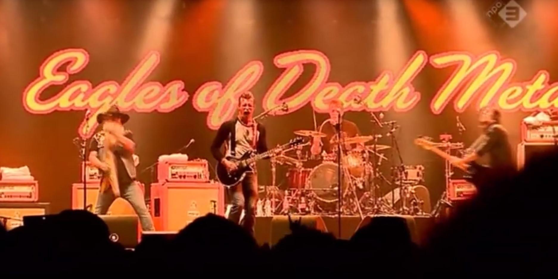 Auftritt Eagles of Death, Terrorattcken in Paris 2015