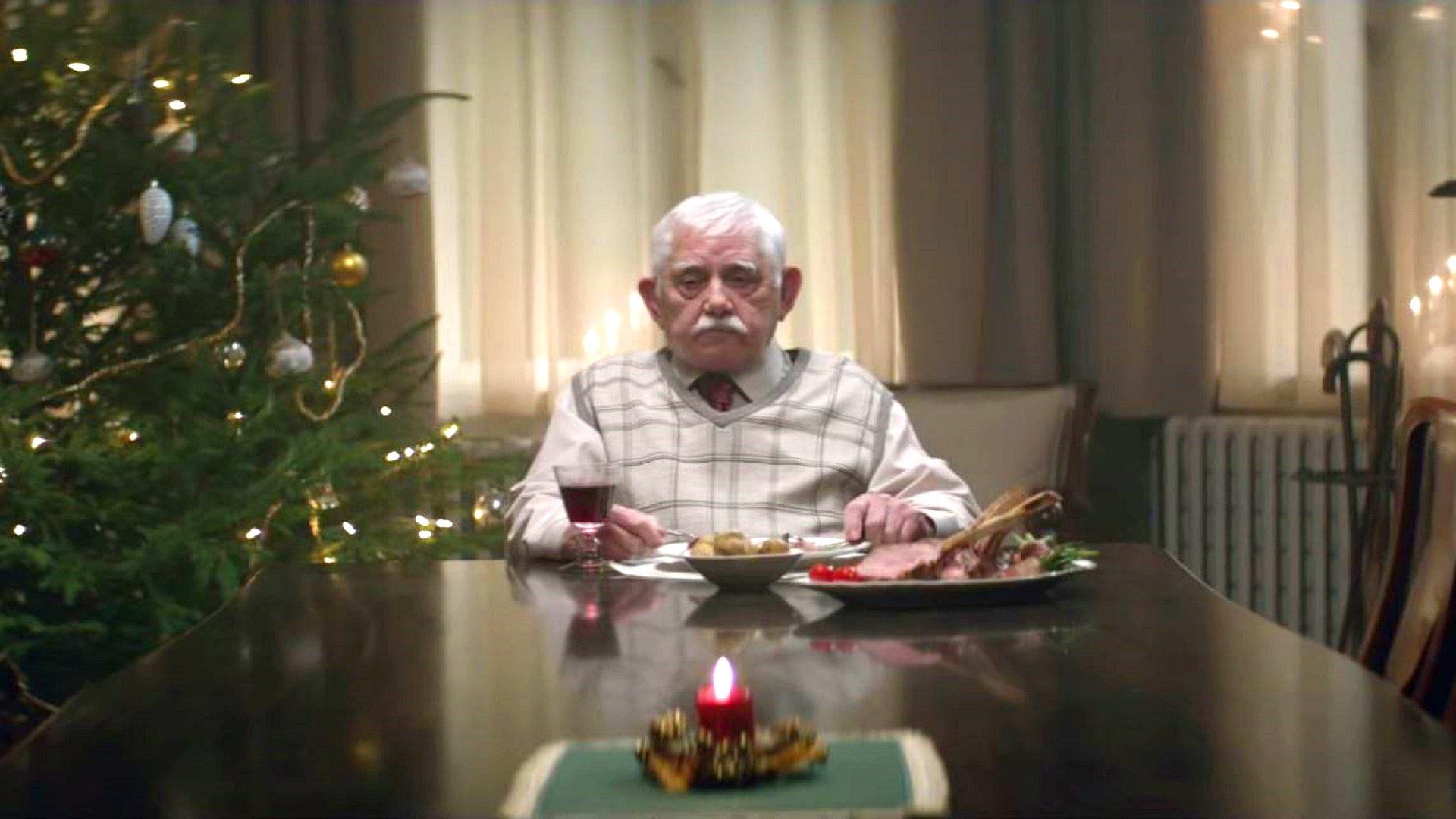 EDEKA-Werbung #heimkommen (Video) wird viel diskutiert, 2015.