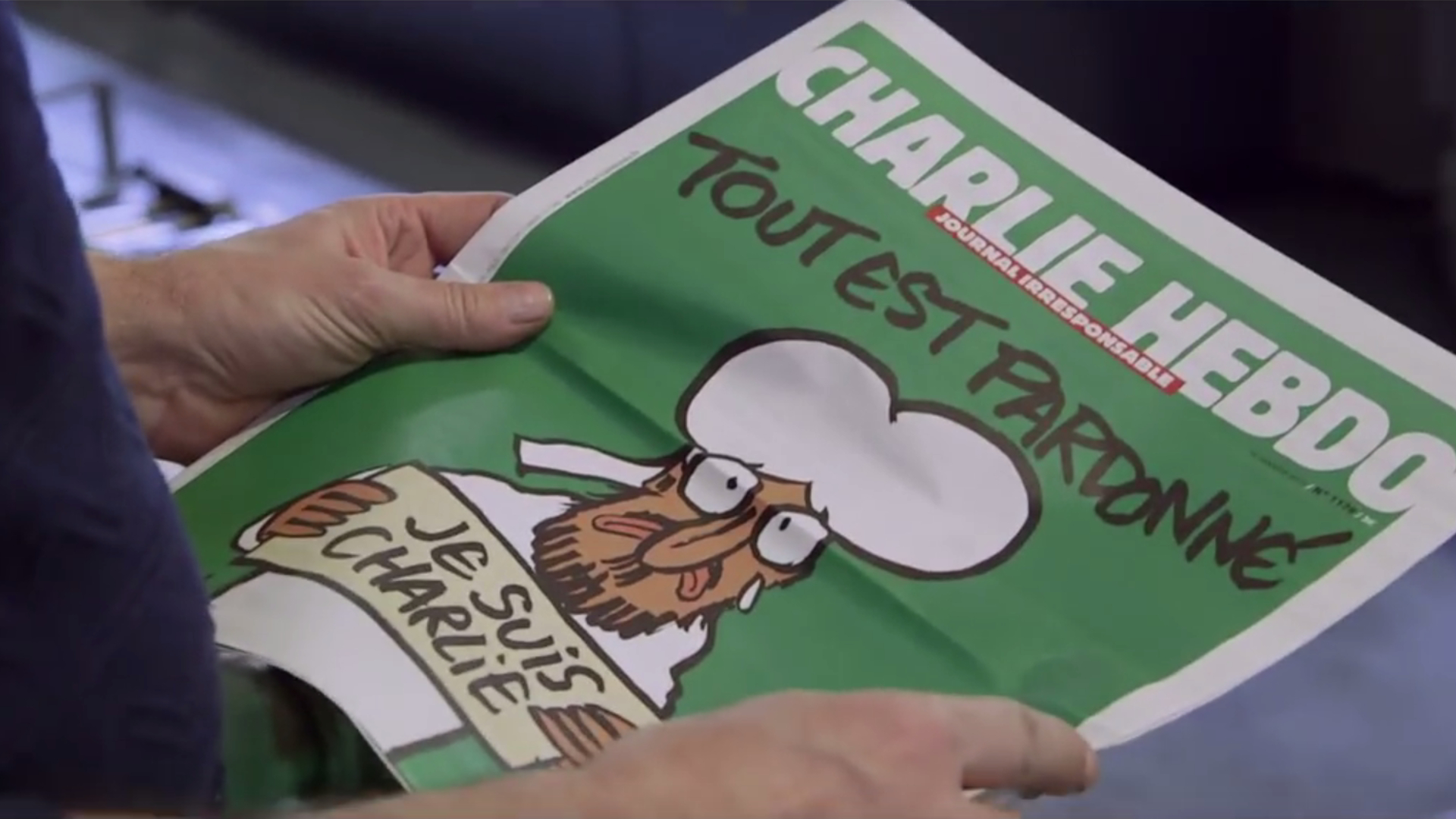 "Doku-Film ""Je suis Charlie"", 2016."