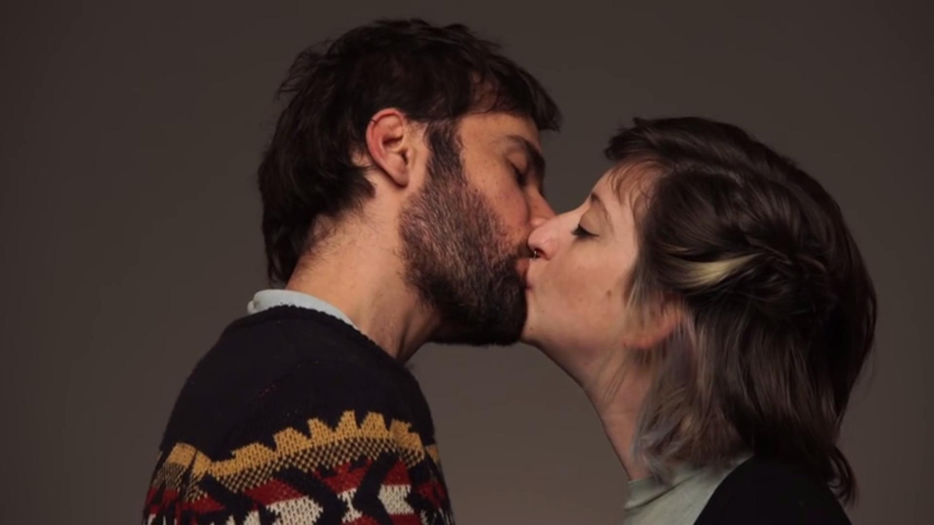 First Kiss zwischen Juden und Arabern