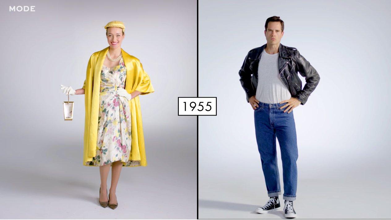 100 Jahre Mode im Zeitraffer, video