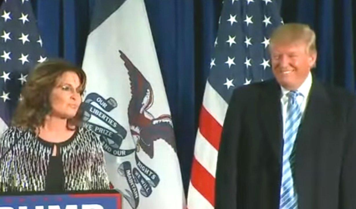 Sarah Palin und Donald Trump