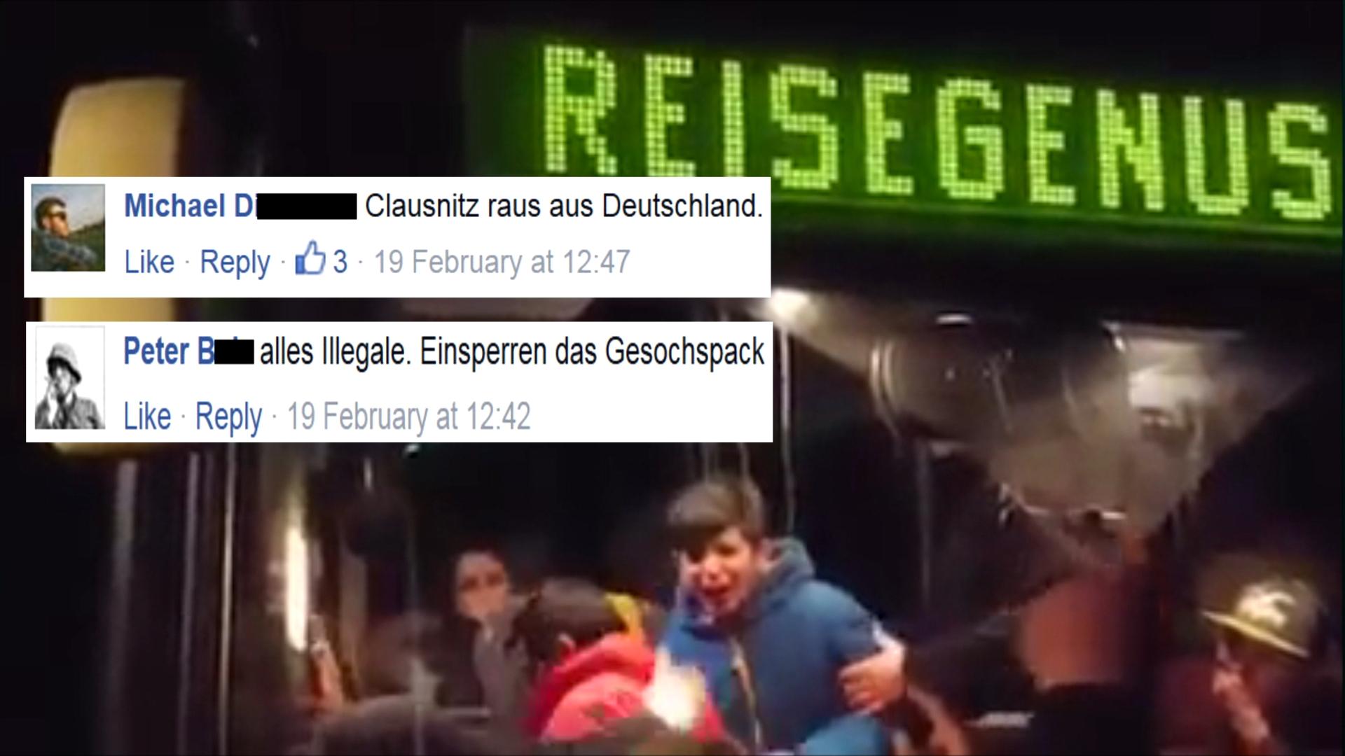 So reagiert das Netz auf die Clausnitz-Videos