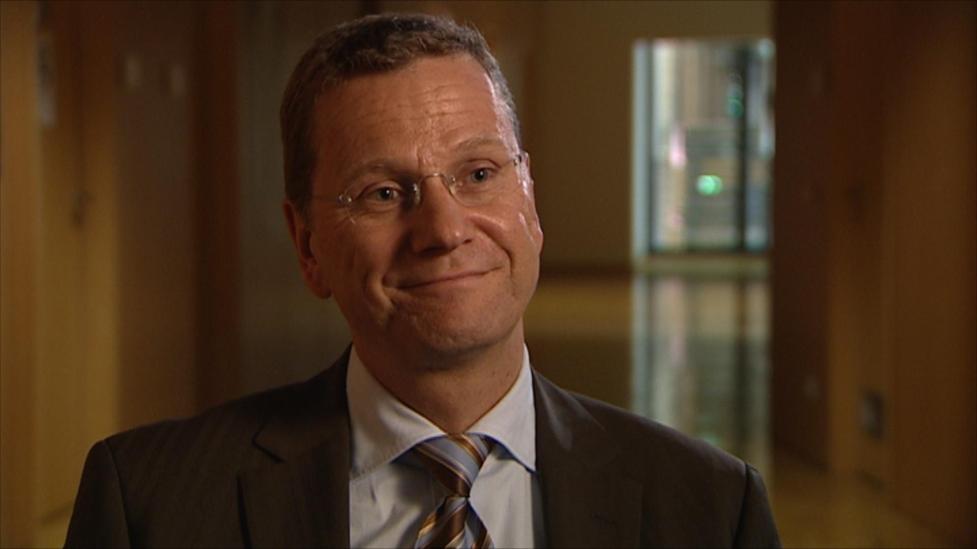 Interview mit dem ehemaligen Außenminister Guide Westerwelle (2007)