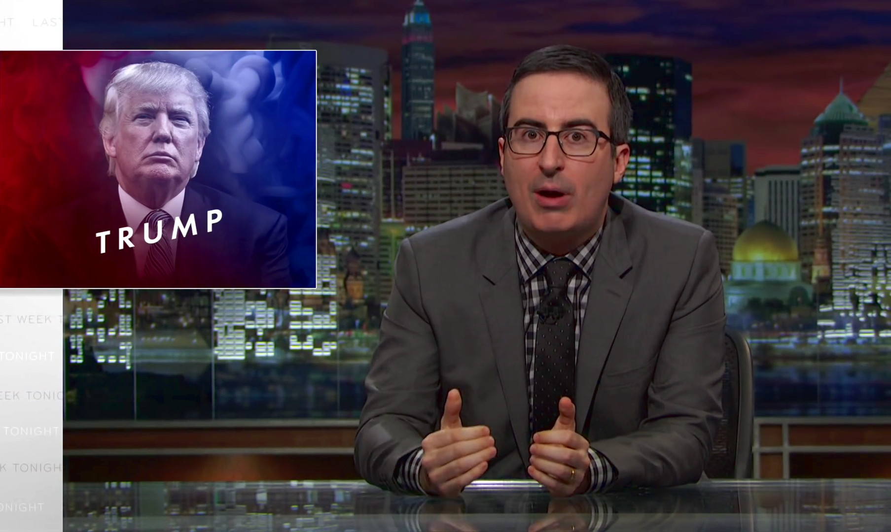 John Oliver on Donald Trump, 2016 (Video)