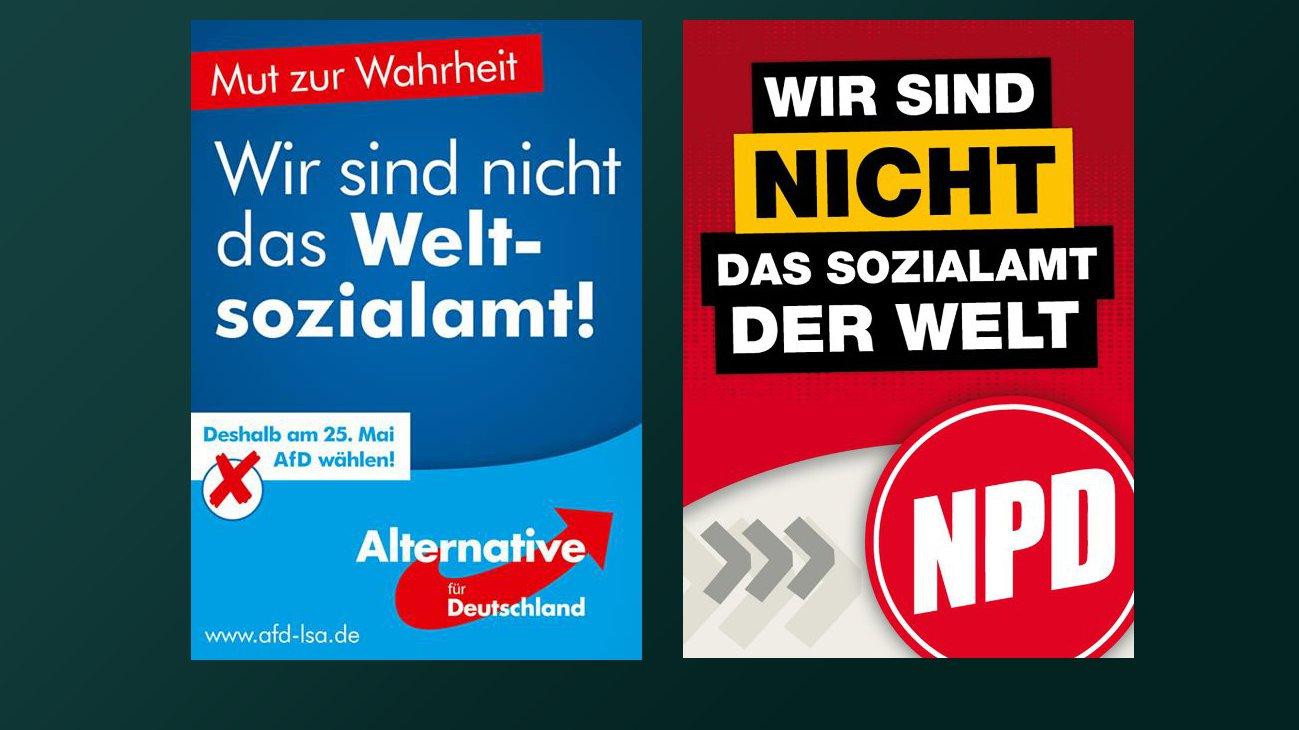 Wer hat´s gesagt: AfD oder NPD? Umfrage in Hamburg, 2016 (Video)