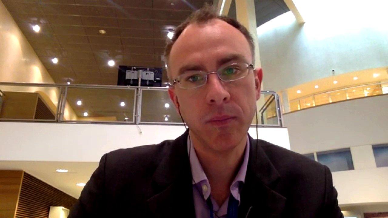 Eric Maurice (EUobserver) im Interview zum Brüssel-Terror, 2016 (Video)