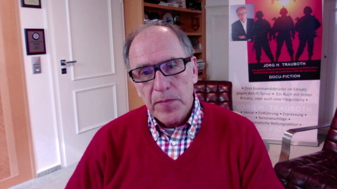 Terrorismusexperte Jörg H. Trauboth über Terror in Europa, 2016 (Video)
