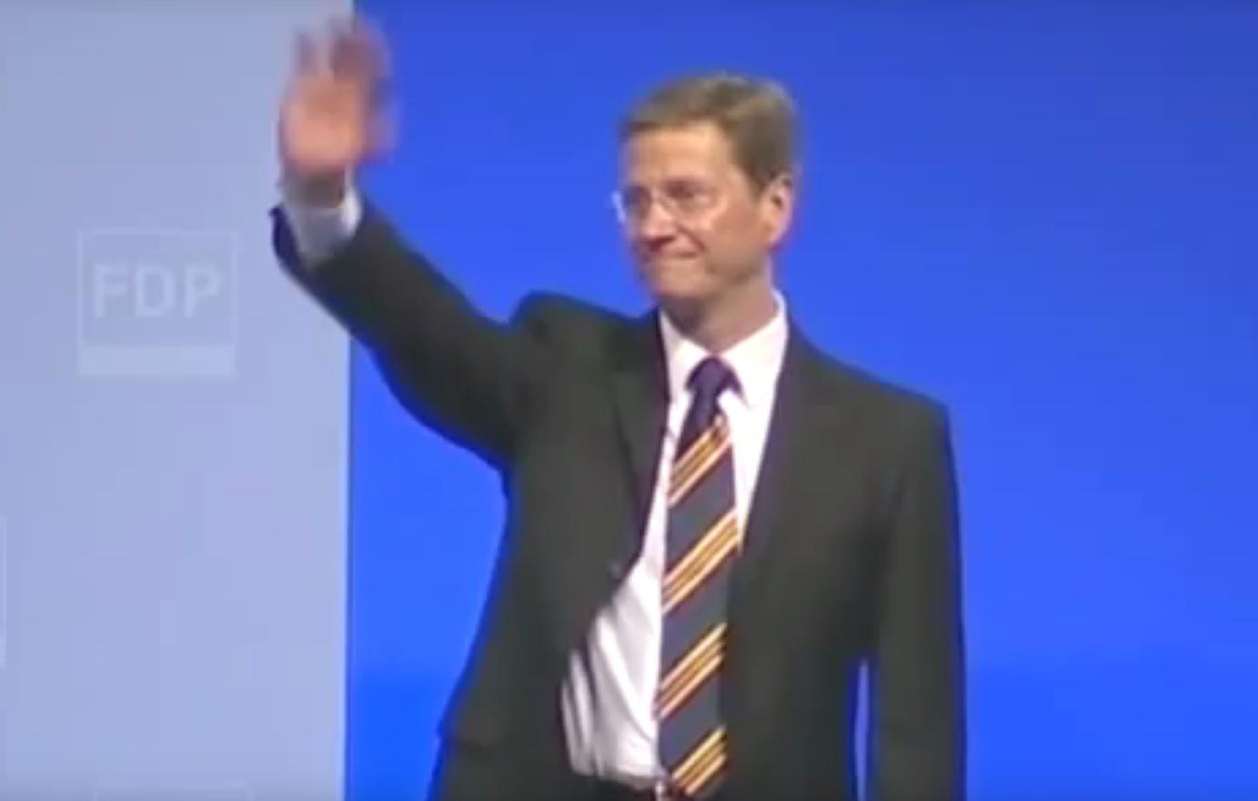 Guido Westerwelle: letzte Rede als FDP-Parteivorsitzender