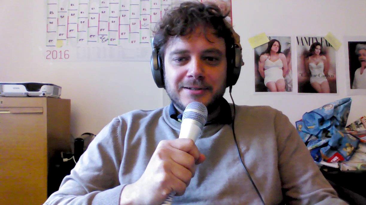 Tim Wolff (Chefredakteur vom Satiremagazin Titanic) zum Erdogan-Schmähgedicht, 2016 (Video)