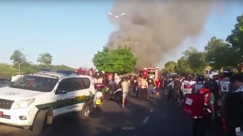 Flash: Terroranschlag Jerusalem Busexplosion