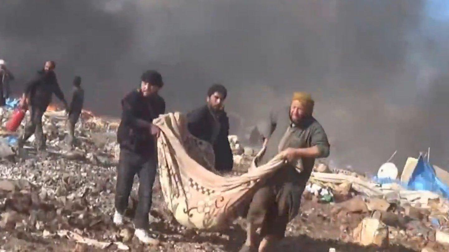 FLASH: Angriff auf syrisches Flüchtlingscamp