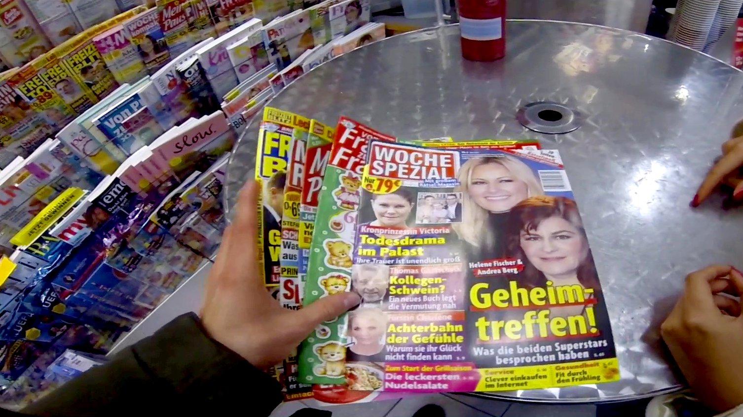 Gala, Bunte und Co. – so absurd ist die Regenbogenpresse
