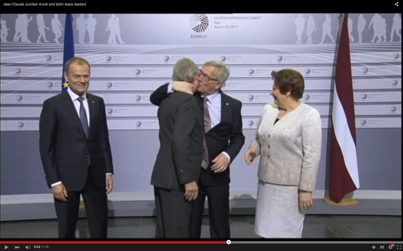 Jean-Claude Juncker betrunken?