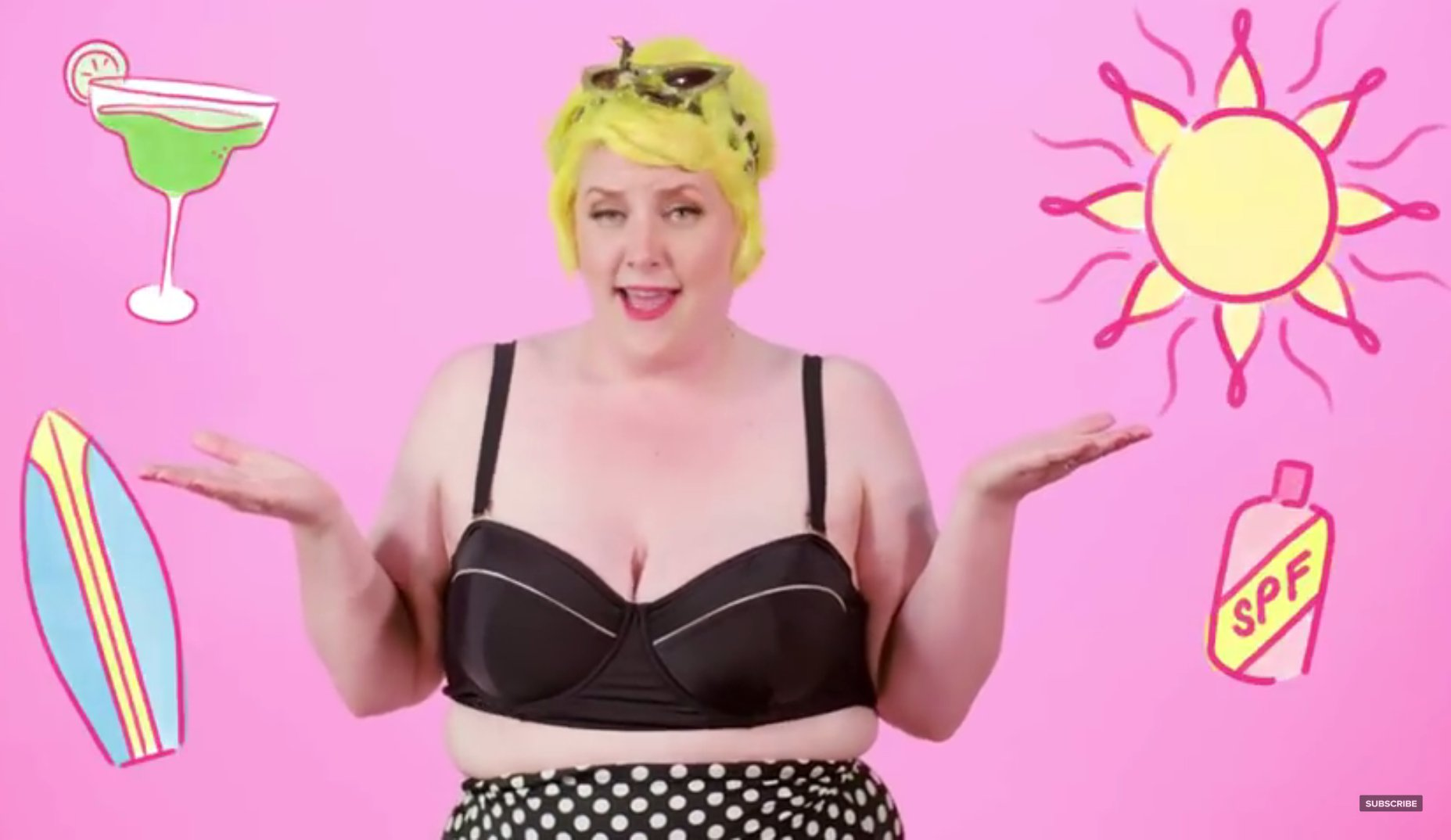 "YouTube-Video ""How To A Get Bikini Body — For Feminists!"""