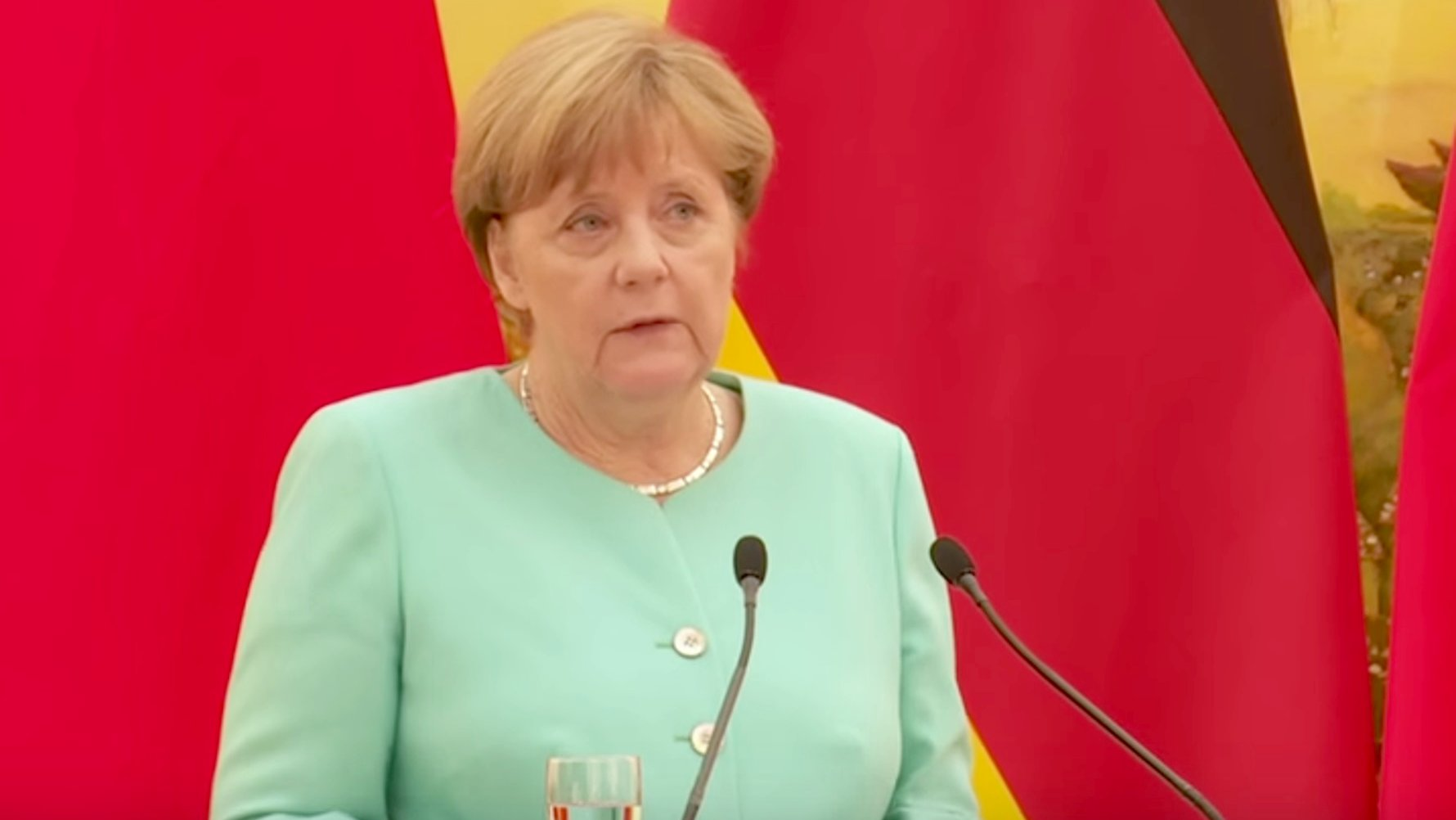 Kanzlerin Merkel zum Orlando-Terror