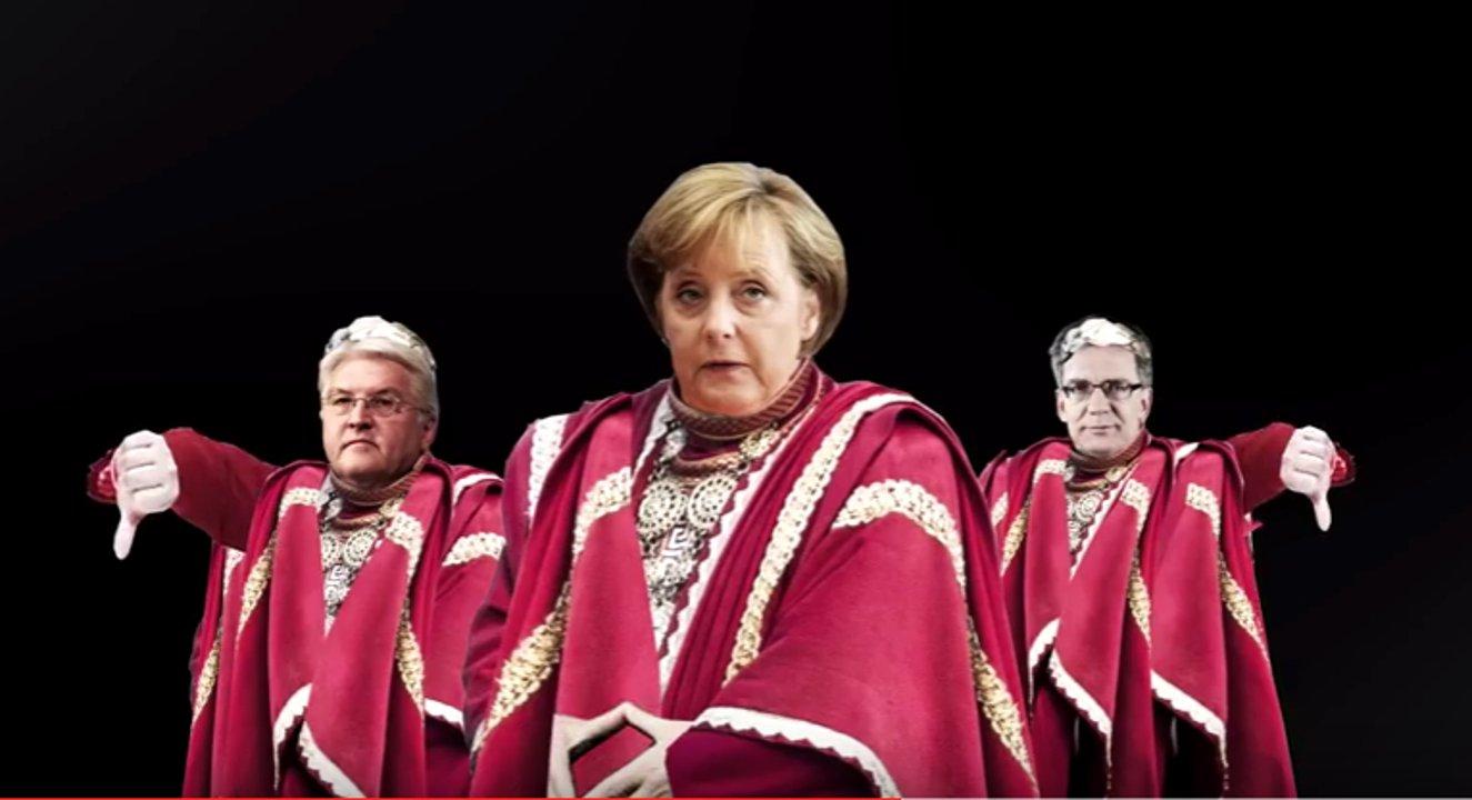 """Neue Aktion """"Flüchtlinge Fressen"""" vom Zentrum für Politische Schönheit schockt Deutschland"""