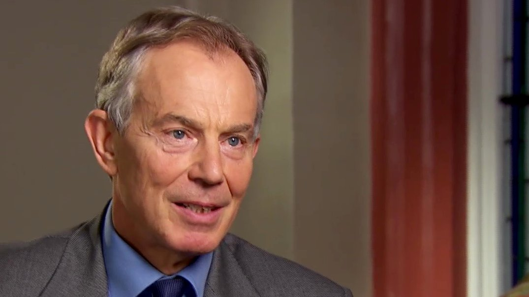 Tony Blair im Interview