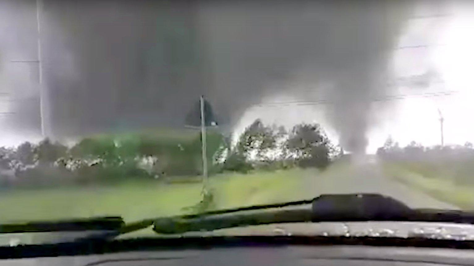 Doppe-Tornado in Schleswig-Holstein