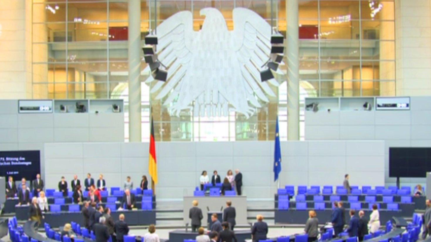 Deutscher Bundestag: Die Debatte im Livestream