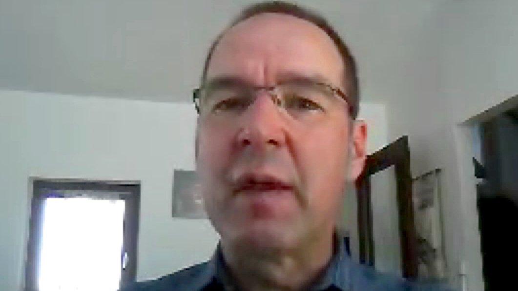 """Michael Gabriel, Leiter der """"Koordinationsstelle Fanprojekte"""""""