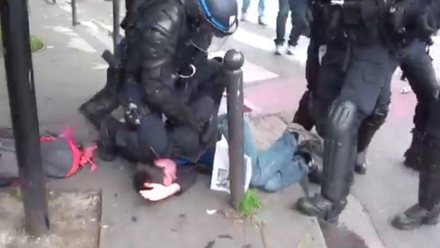 VIDOETAGEBUCH: Aufstand gegen Hollande - Ausnahmesituation in Frankreich