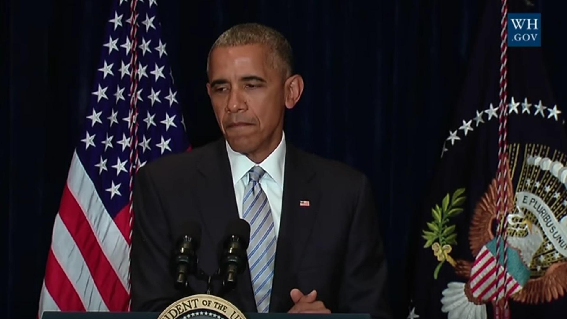 Barack Obama zur Polizeigewalt in den USA